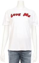SANDRINE ROSE Love Me Vintage Crew Tee
