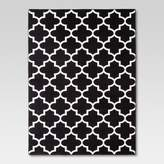 Threshold Fretwork Rug