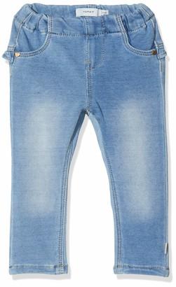 Name It Baby Girls' Nbfthea Dnmtorina 1321 SWE Legging Noos Jeans