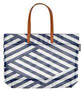 Sunnylife Beach Bags Luxe Mesh Tote Montauk - Blue/white