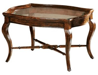 Astoria Grand Stewart Coffee Table with Tray Top