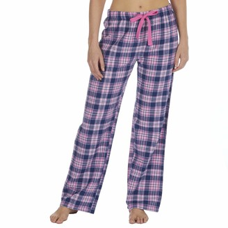 Forever Dreaming Ladies Woven Brushed Flannel Pyjama Pants Pink