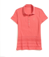 Tommy Hilfiger Final Sale- Cotton Eyelet Polo