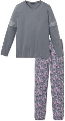 Schiesser Girl's Madchen Anzug Lang Pyjama Sets