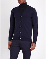 John Smedley Merino Wool Button-up Cardigan
