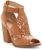 Restricted Well Known Block Heel Sandal