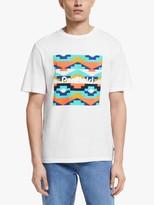 Penfield Sandtoft Print T-Shirt, White