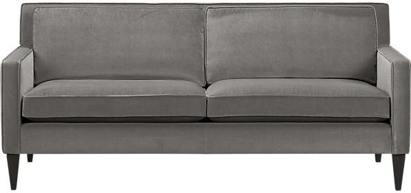 Crate & Barrel Rochelle Apartment Sofa