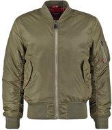 Merc Hardy Bomber Jacket Combat Green