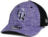 New Era Colorado Rockies Team Color Tech Fuse 39THIRTY Cap