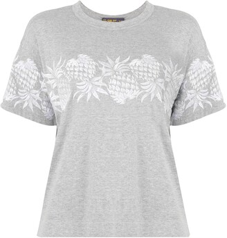 Sacai pineapple print T-shirt