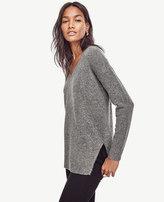 Ann Taylor Petite V-Neck Tunic Sweater