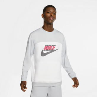 Nike Men's Sportswear Mixed Fleece Crewneck Sweatshirt