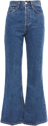 RE/DONE High-rise Flared Jeans