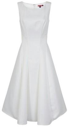 Dorothy Perkins Womens *Chi Chi London White Midi Dress, White