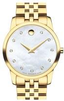 Movado 'Museum' Bracelet Watch, 28mm