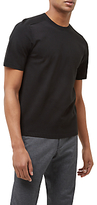 Jaeger Airtex Short Sleeve Jumper, Black