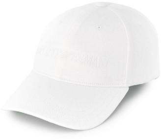 Emporio Armani Logo-Embroidered Baseball Cap