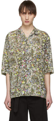 Lemaire Multicolor Neon Splash Shirt