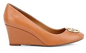 Tory Burch Women's Chelsea Leather Wedge Pumps