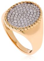 Gold & Diamond Pinky Ring