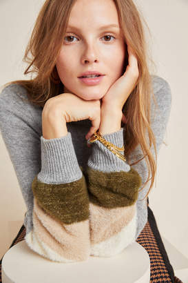 Cupcakes And Cashmere Drew Colorblocked Sweater
