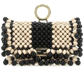 Fendi Nano Baguette Crossbody Bag