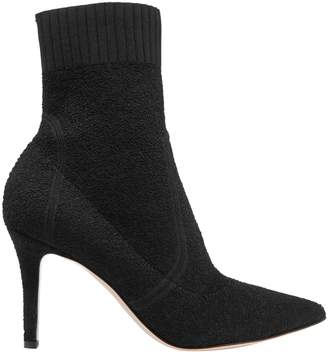 Gianvito Rossi Boucle-knit Sock Boots