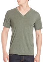Splendid Mills V-Neck Short Sleeve Tee