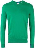 Paul Smith V-neck jumper - men - Cotton - S