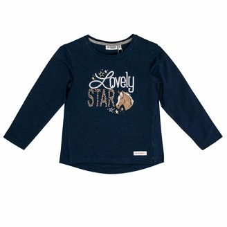 Salt&Pepper Salt and Pepper Girls' Horses Lovely Star Applikation Longsleeve T-Shirt