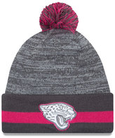 New Era Jacksonville Jaguars Breast Cancer Awareness Sport Knit Hat