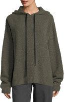 Robert Rodriguez Merino Wool Hooded Pullover Sweatshirt