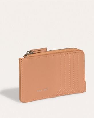 Pixie Mood Apricot-Orange Quinn Card Wallet