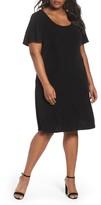 Vikki Vi Plus Size Women's T-Shirt Dress