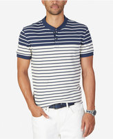 Nautica Men's Slim-Fit Colorblocked Striped Henley