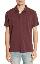 Rag & Bone Men's Standard Issue Slub Jersey Polo