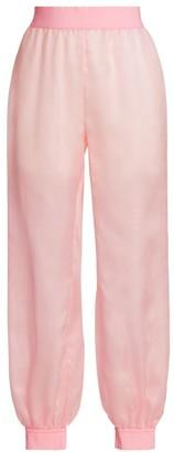 Moschino Silk Track Pants