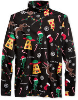 American Rag Men's Christmas In Space Turtleneck Shirt, Only at Macy's