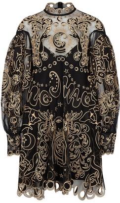 Zimmermann Ladybeetle Fortune embroidered tulle mini dress