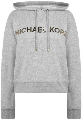 MICHAEL Michael Kors Gold Logo Hoodie
