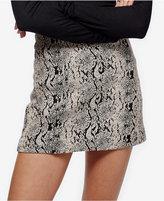 Free People Mod Femme Jacquard Mini Skirt