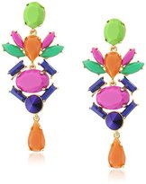 "Trina Turk Color Pop"" Chandelier Linear Drop Earrings"