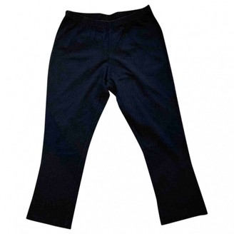 Fendi Anthracite Cotton Trousers