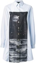 Marc by Marc Jacobs oversized printed shirt