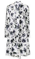 Osman ladder sleeve floral print dress - women - Cotton - 6