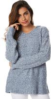 Billabong Blue Dayz Knit Hooded Pullover Blue