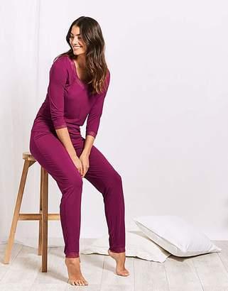 Figleaves Camelia Soft Slim Leg PJ Set