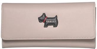 Radley London Heritage Radley - Large Flapover Matinee (Dove Grey) Handbags