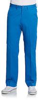 Saks Fifth Avenue BLACK Straight-Leg Cotton Pants